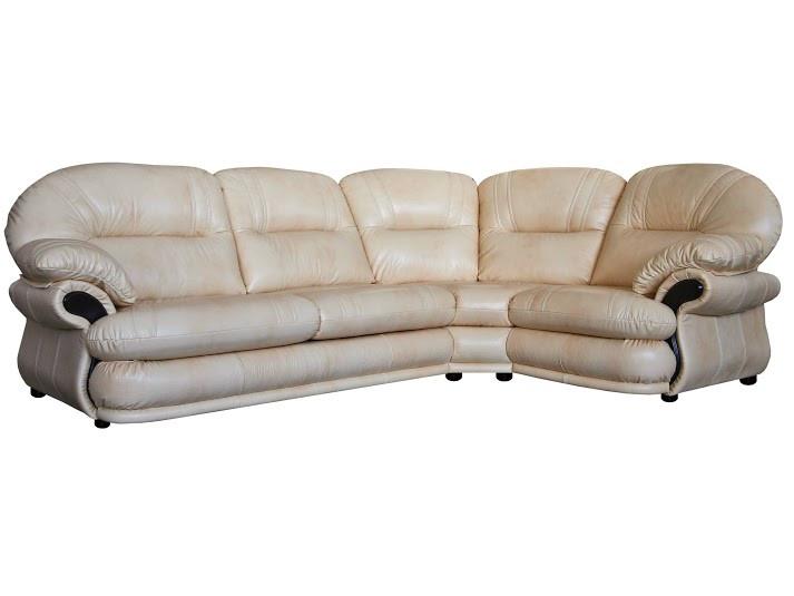 Шкіряний диван Орландо, не розкладний диван, м'який диван, меблі з шкіри, диван