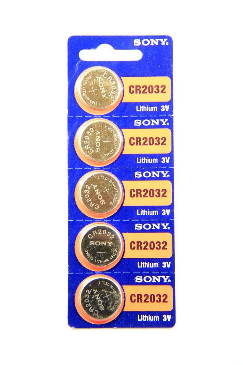 Літієва Батарейка Sony CR2032