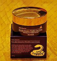 Интенсивный крем для лица Deoproce со змеиным ядом Syn-Ake intensive wrinkle care cream 100г