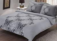Семейное постельное белье  TAC Satin 70х70 AIDA серый