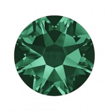 "Камни ""Swarovski""(реплика) Emerald SS-3, SS-4, SS-5, SS-6 (100шт)"
