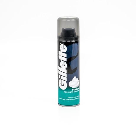 Піна для гоління Gillette foam sensitive skin 200 мл