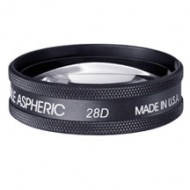 Линза 28D Large Clear- Black Ring ( Volk  )