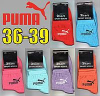 Демисезонные носки женские  Puma 36-39р. ассорти   НЖД-448