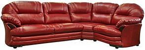 Шкіряний диван Нью-Йорк, м'який диван, меблі з шкіри, диван, фото 2