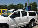 Рейлинги на Nissan Navara, фото 3