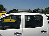 Рейлинги на Nissan Navara, фото 4