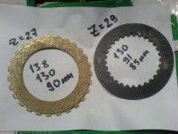 Фрикционные диски малые для погрузчиков Furukawa FL200-1 на КПП ZF 4WG180