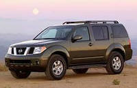Кенгурятники Nissan Pathfinder