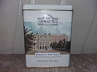 Цейлонский черный чай с бергамотом в металической коробке AHMAD Tea 500гр