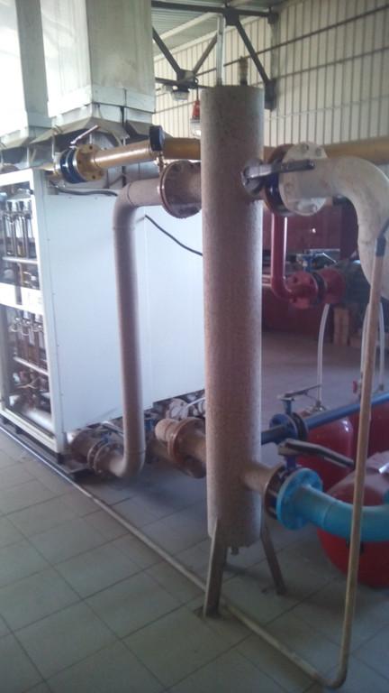 Гідравлічний вирівнювач системи гор. водопостачання.