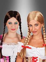 Карнавальный парик с косичками