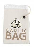 Мешок из ткани для хранения овощей (чеснок)