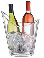Ведерко для напитков акриловое прозрачное