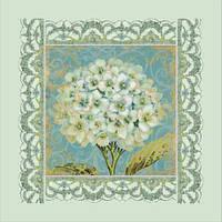 Набор для вышивание бисером Белая герань, Идейка (ВБ 1017)
