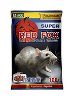 Red Fox супер 100г Премиум средство от грызунов (в гранулах)