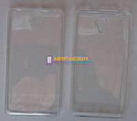 Чехол-бампер TPU силиконовый Prestigio MultiPhone PSP 5551 Grace S5 LTE Прозрачный