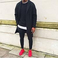 Мужское пальто, классическое пальто , черное пальто