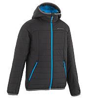 Куртка детская для мальчика Quechua X-Light черная