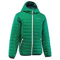 Куртка детская для мальчика Quechua X-Light зеленая