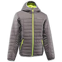 Куртка детская для мальчика Quechua X-Light серая