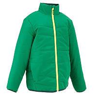Куртка детская для мальчика Quechua Hike 100 зеленая