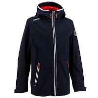Куртка летняя для мальчика водонепроницаемая Tribord Raincoastal синяя