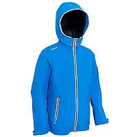 Куртка летняя для мальчика водонепроницаемая Tribord Raincoastal голубая