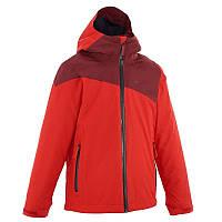Куртка зимняя для мальчика Quechua Forclaz 900 3в1 красная