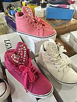 Демисезонные ботинки детские для девочек L.G.M оптом  Размеры 31-35