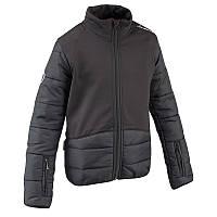 Куртка под жилет детская для конного спорта Fouganza черная