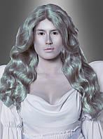 Женский карнавальный парик серого цвета ( подходит для образа статуи)