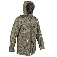 Куртка мужская, охотничья Solognac STEPPE 500 камуфляжная