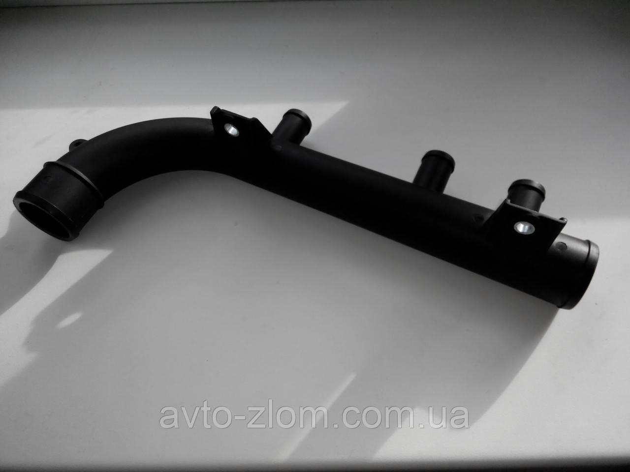 Патрубок системы охлаждения (саксофон) Opel Vectra A, Опель Вектра А 1,8 - 2,0.
