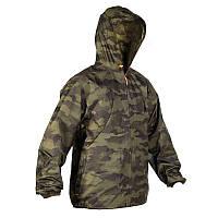 Куртка мужская дождевик Solognac SIBIR 100 камуфляжная