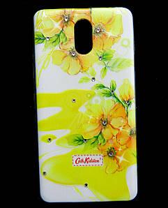 Чехол накладка для Lenovo Vibe P1m силиконовый Diamond Cath Kidston, Sun Flowers
