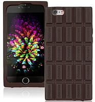 Силиконовый чехол с ароматом шоколада для iphone 6/6S