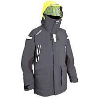 Куртка мужская для яхтинга, водонепроницаемая Tribord 100 серая