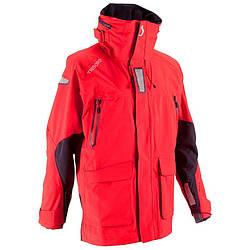 Куртка мужская для яхтинга, водонепроницаемая Tribord 100 красная