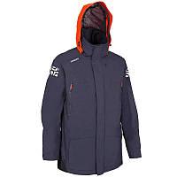 Куртка мужская для яхтинга, водонепроницаемая Tribord OFFSHOROA 100 синяя