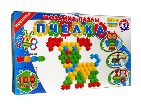 Мозаика-пазлы Пчелка 100 Технок /4/ - Many.Toys игрушки и товары для детей в Днепре