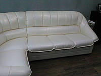 Перетяжка углового дивана Днепр. Перетяжка мягкой мебели., фото 1