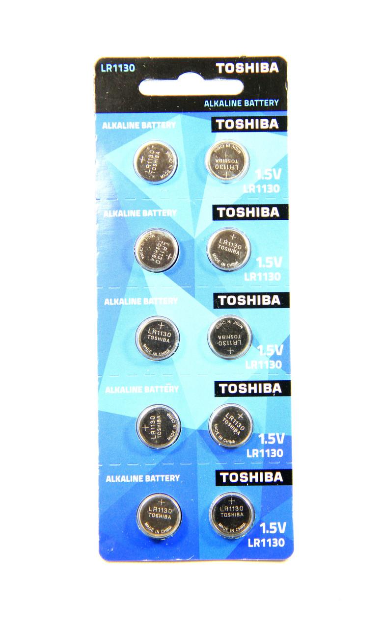 Батарейка годинникова Toshiba LR1130