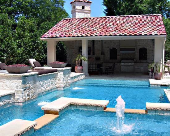 Невероятный бассейн с Фонтаном и Водопадом у вас во дворе.Приватный Курорт