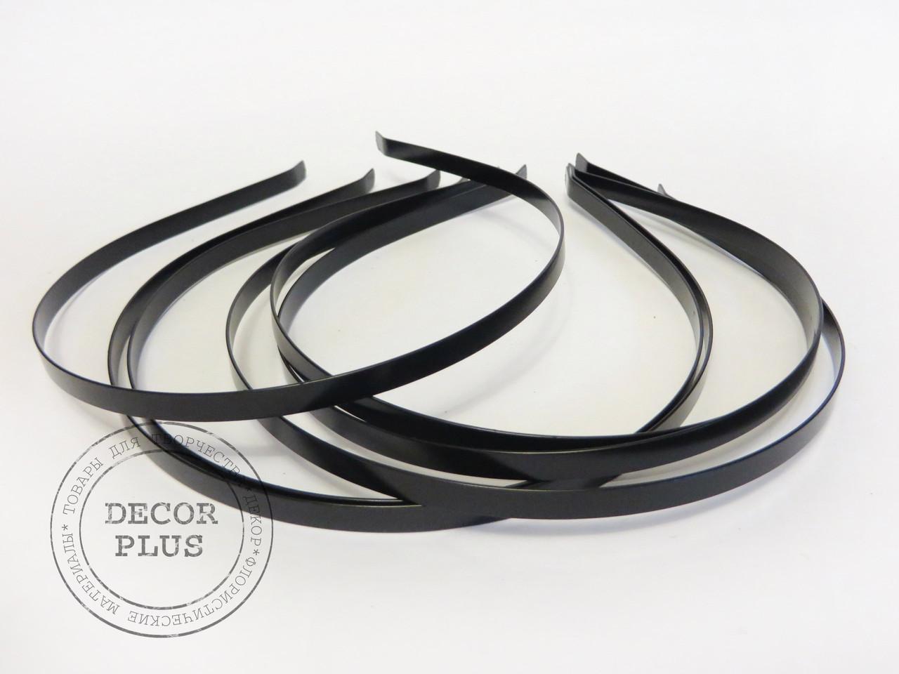Ободок металлический черный 5мм