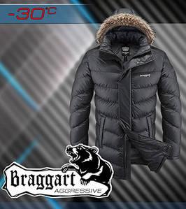 Куртка с тёплым капюшоном мужская