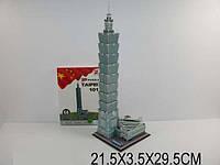 "3D паззл ""Тайпей 101"", 68 дет. в кор. 21х3х29 /72-2/"