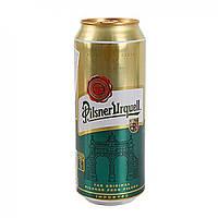Пиво светлое Pilsner Urquell 4.4% 0,5 л банка Чешская республика