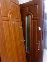 Двері вхідні металеві з мдф накладками в квартиру Стандарт