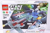 Конструктор Star Wars 80017 (Детали конструктора+48 деталей пазла) КK